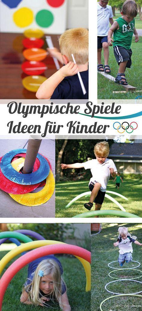 party ideen f r die olympischen spiele kindergarten and outdoor games. Black Bedroom Furniture Sets. Home Design Ideas
