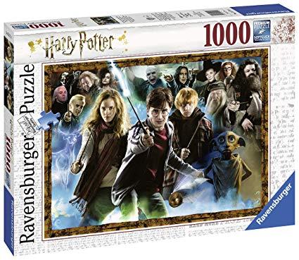 Amazon Com Ravensburger Harry Potter 1000pc Jigsaw Puzzle Toys Games Harry Potter Puzzle Ravensburger Ravensburger Puzzle
