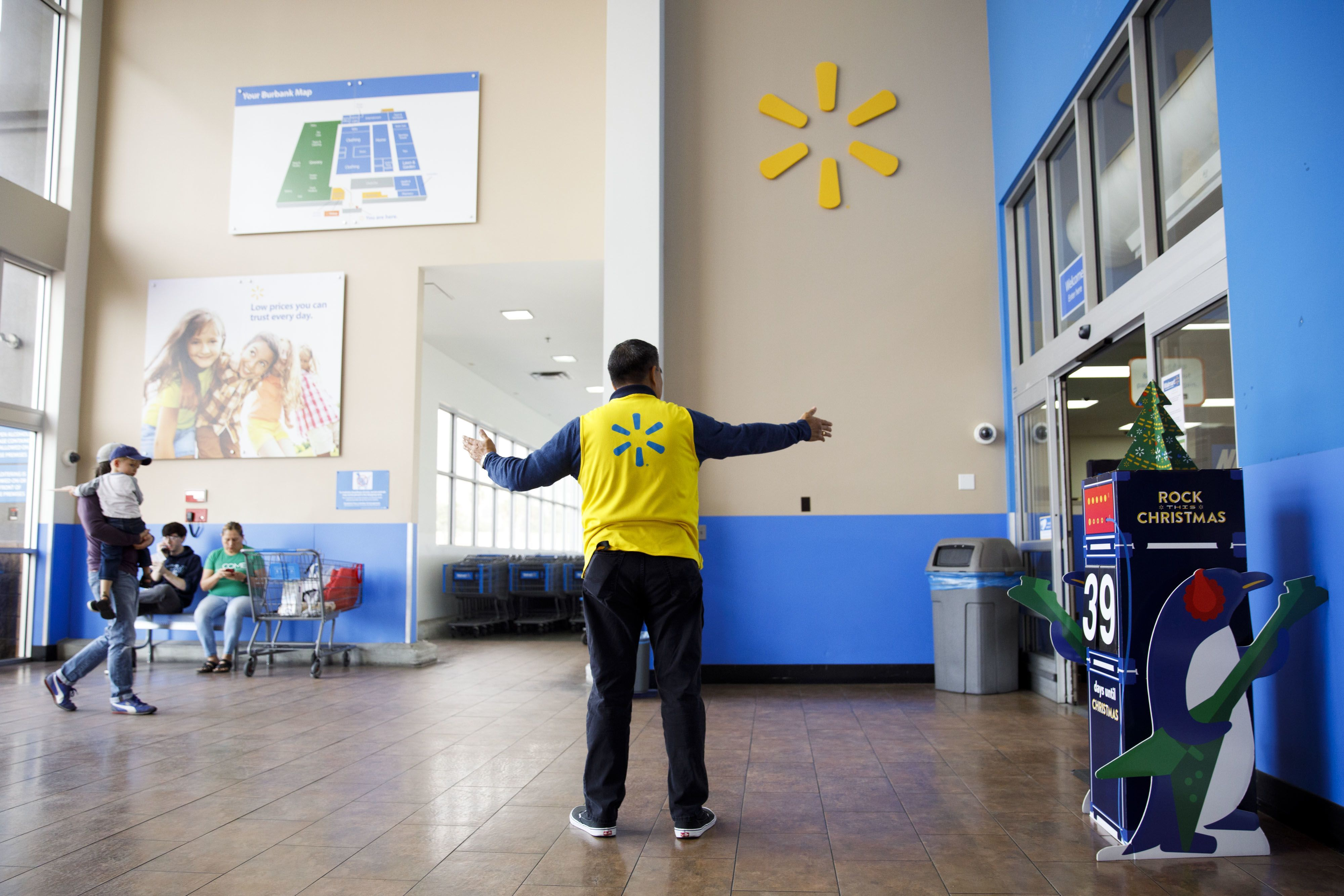 Walmart is testing ways to trim the size of its store