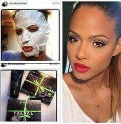 Hasta las famosas usan el wrap facial !!
