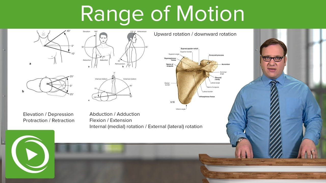 Upper Limb: Range of Motion – Anatomy   Medical Education Videos ...