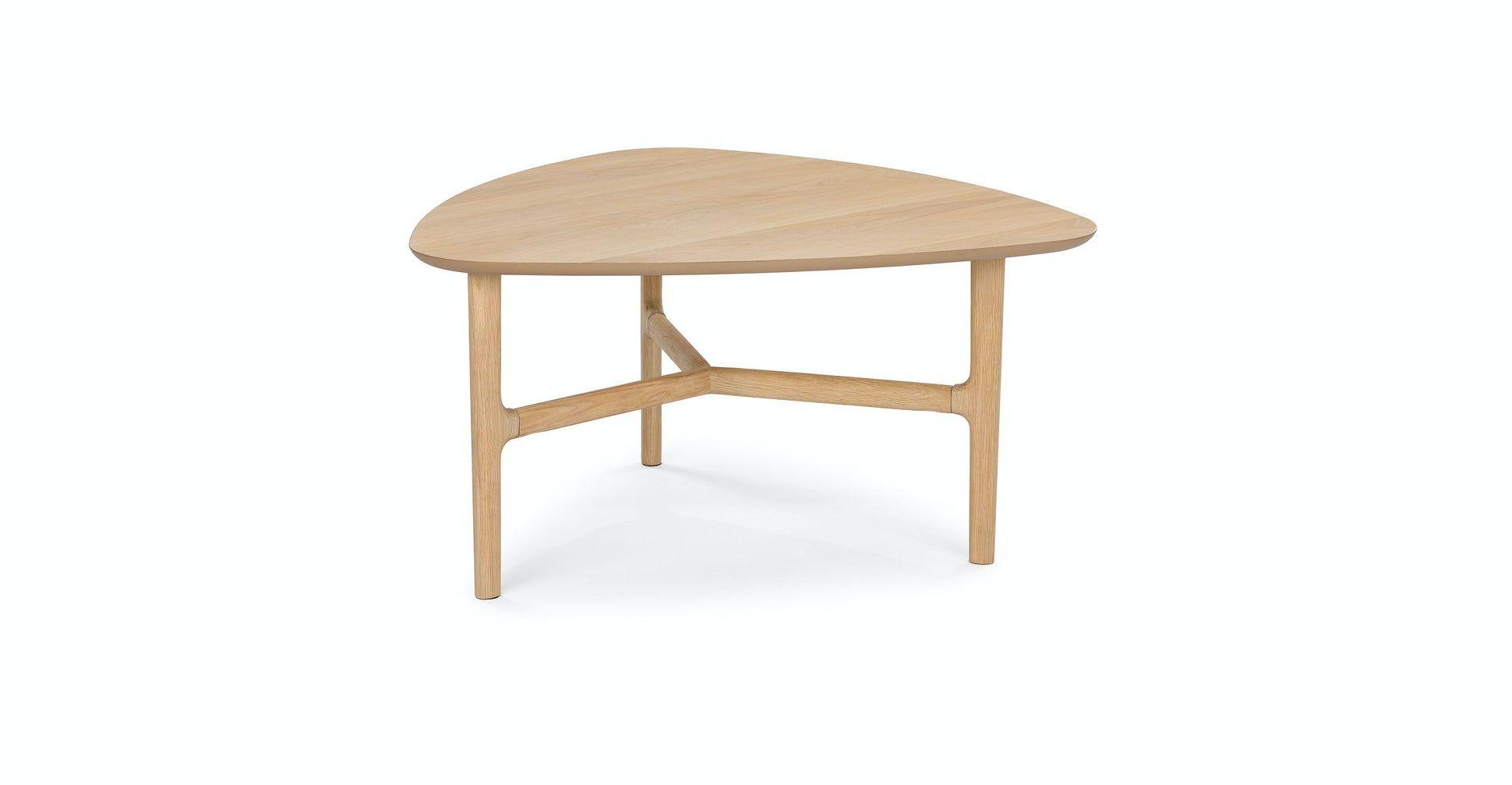 Brezza Light Oak Triangular Coffee Table In 2021 Mid Century Modern Coffee Table Coffee Table Modern Coffee Table Decor [ 1007 x 1940 Pixel ]