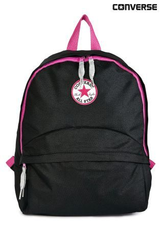 9cda72ef7d Buy Converse Black/Pink Backpack from the Next UK online shop   nike ...