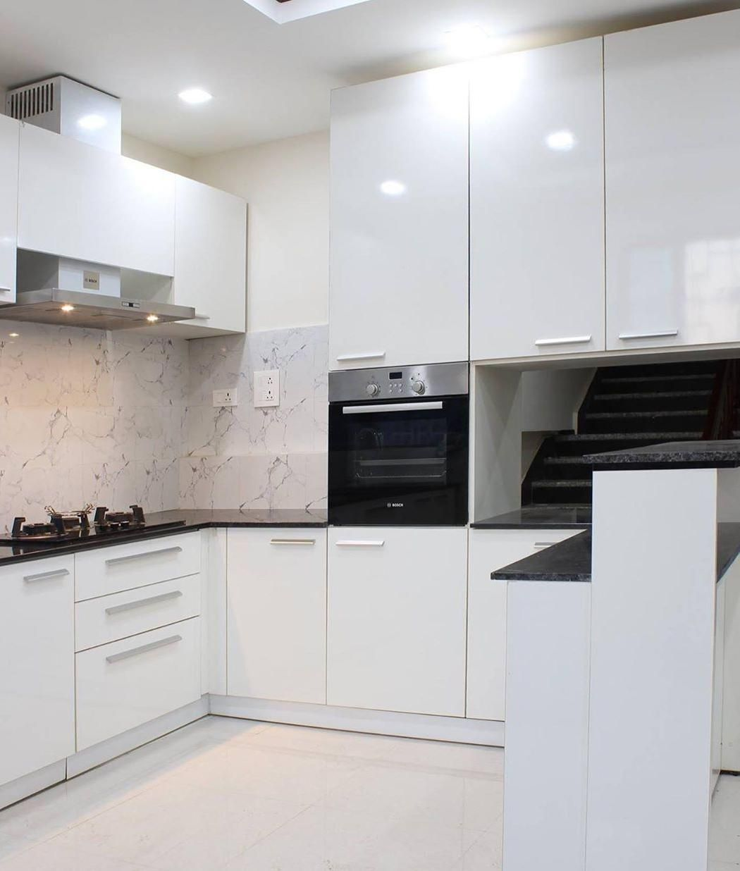 Best Modern White Kitchen Design Ideas Modern White Kitchens Best Backsplash For White Kitchen W Small White Kitchens White Modern Kitchen White Kitchen Design