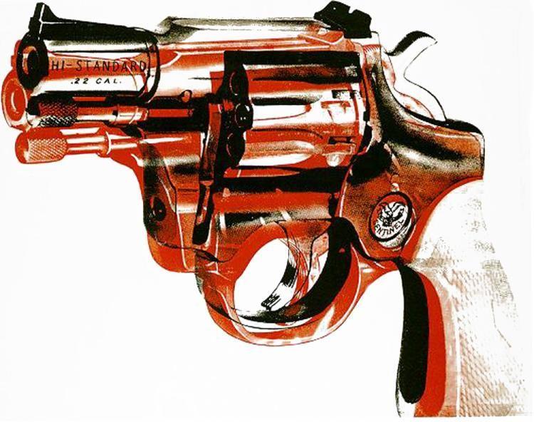 'Gewehr' von Andy Warhol (1928-1987, United States)