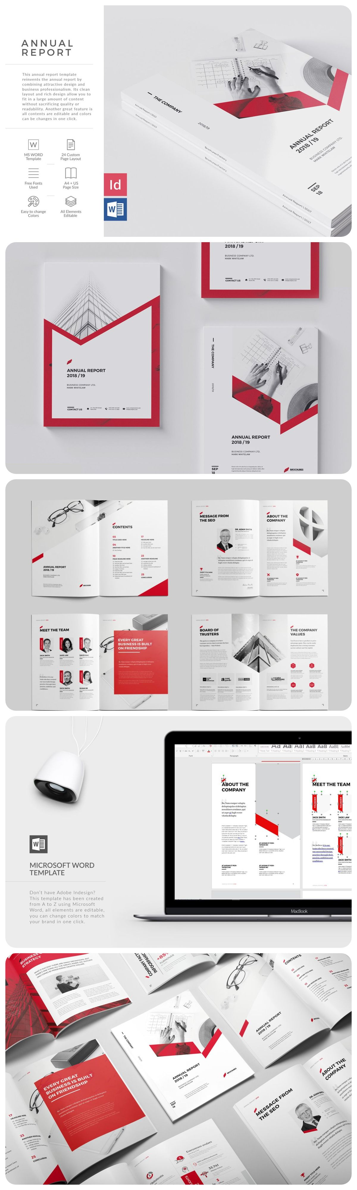 This Annual Report Template Reinvents The Annual Report By