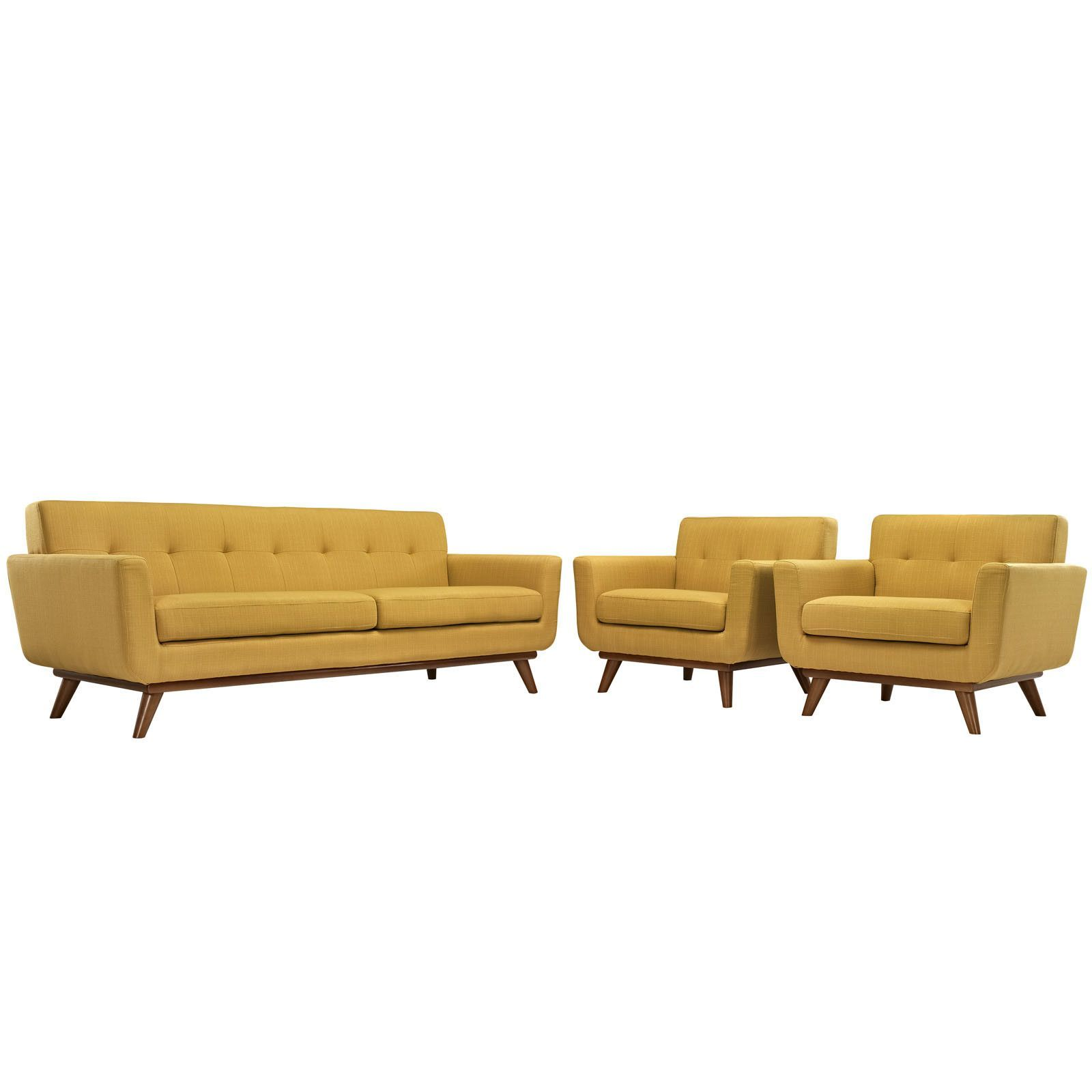 Engage 3 Piece Living Room Set