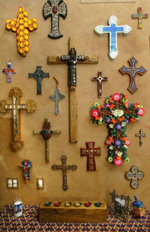 Cross Collection Looks Like My Wall Of Crosses Ms In 2019