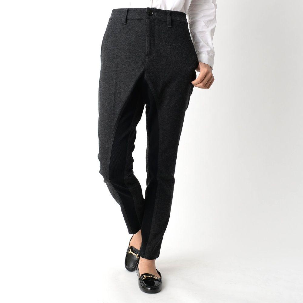 【80着限定販売】異素材使いサルエルスキニーパンツ(Embellish./エンブリッシュ) #embellish #fashion #pants #ladies #sarouel #trend