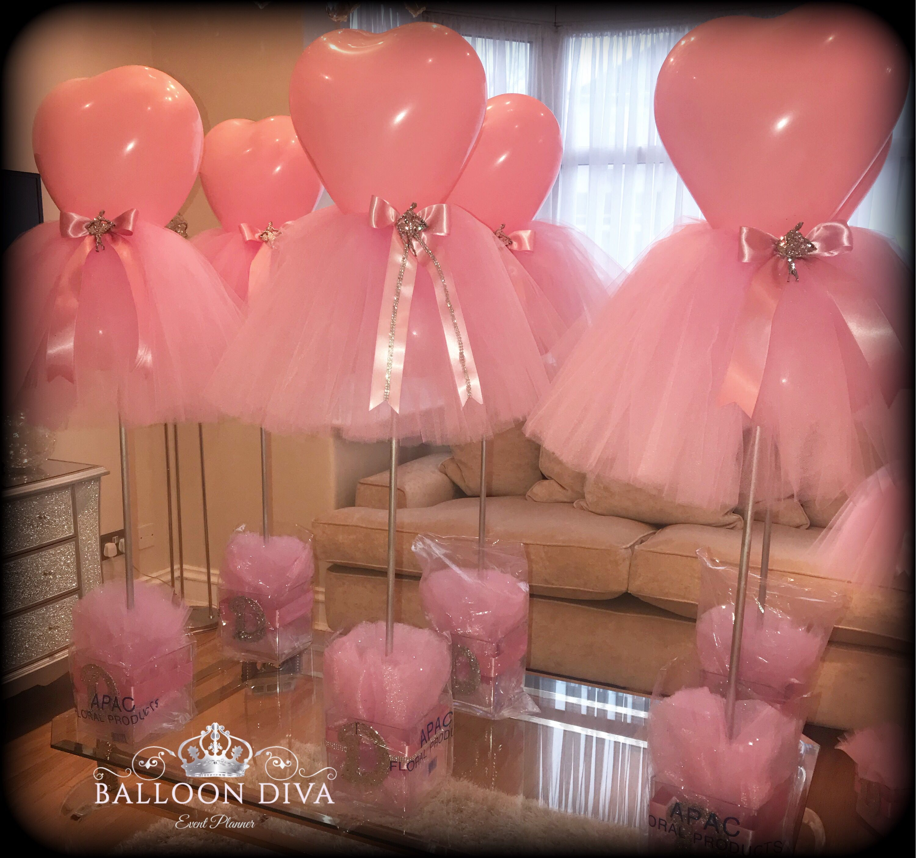Baby Shower Decorating Idea I Absolutely Love The Tulle Table