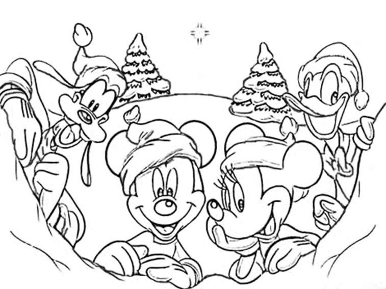 malvorlagen weihnachten disney – Ausmalbilder für kinder | Likes ...