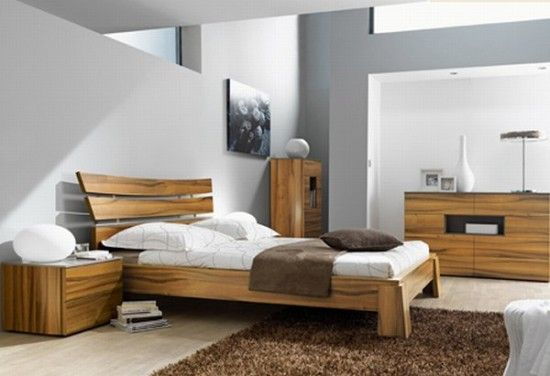 Cozy Natural Wooden Bedroom Theme Remarkable Modern Furniture