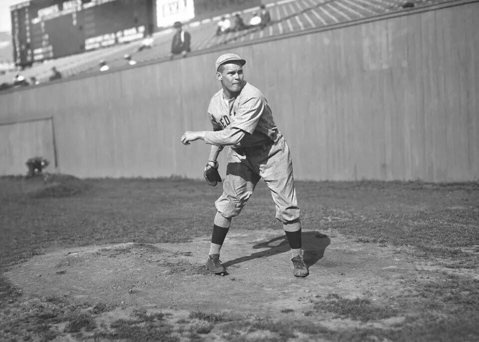 Dutch Leonard. 1918. Baseball pictures, Baseball history