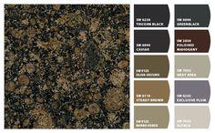 Best Paint Colors With Baltic Brown Granite Brown Granite 400 x 300