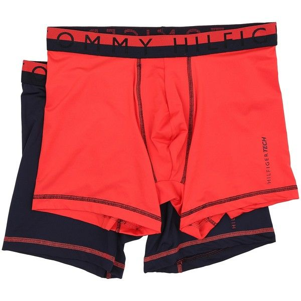 121bb0d12170 Tommy Hilfiger Tech Boxer Brief 2-Pack (Hibiscus) Men's Underwear ($18)