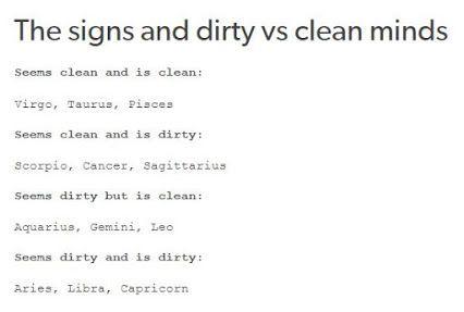 Nope I Seem Clean But I Ain T Zodiac Sign Traits Zodiac Star Signs Zodiac Signs Funny