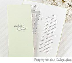 888814cea7ef Innehåll i festprogram till bröllopet - BröllopsGuiden   Wedding ...