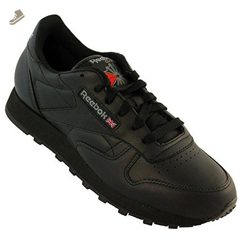 da34269b972b2 Reebok Classic Leather Women Sneaker Black 3912, Size:36 - Reebok ...