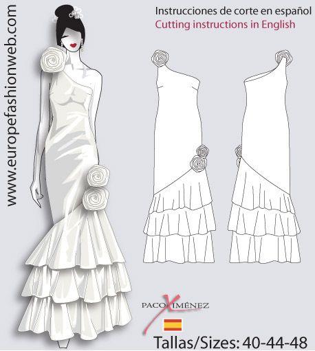 patrones vestidos de fiesta - Buscar con Google | vestidos ...