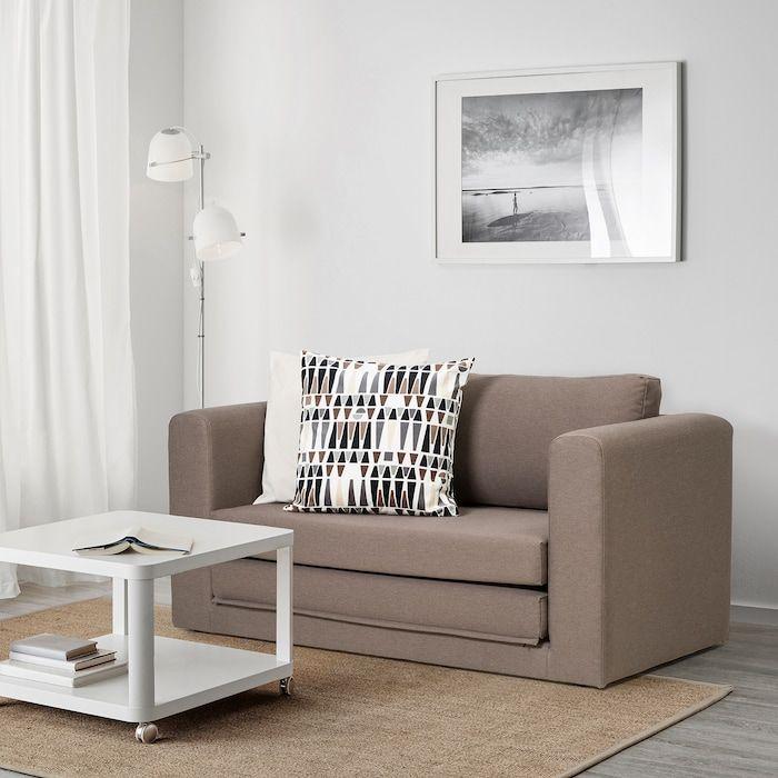 ASKEBY Dansbo medium brown, 2-seat sofa-bed - IKEA in 2020 ...