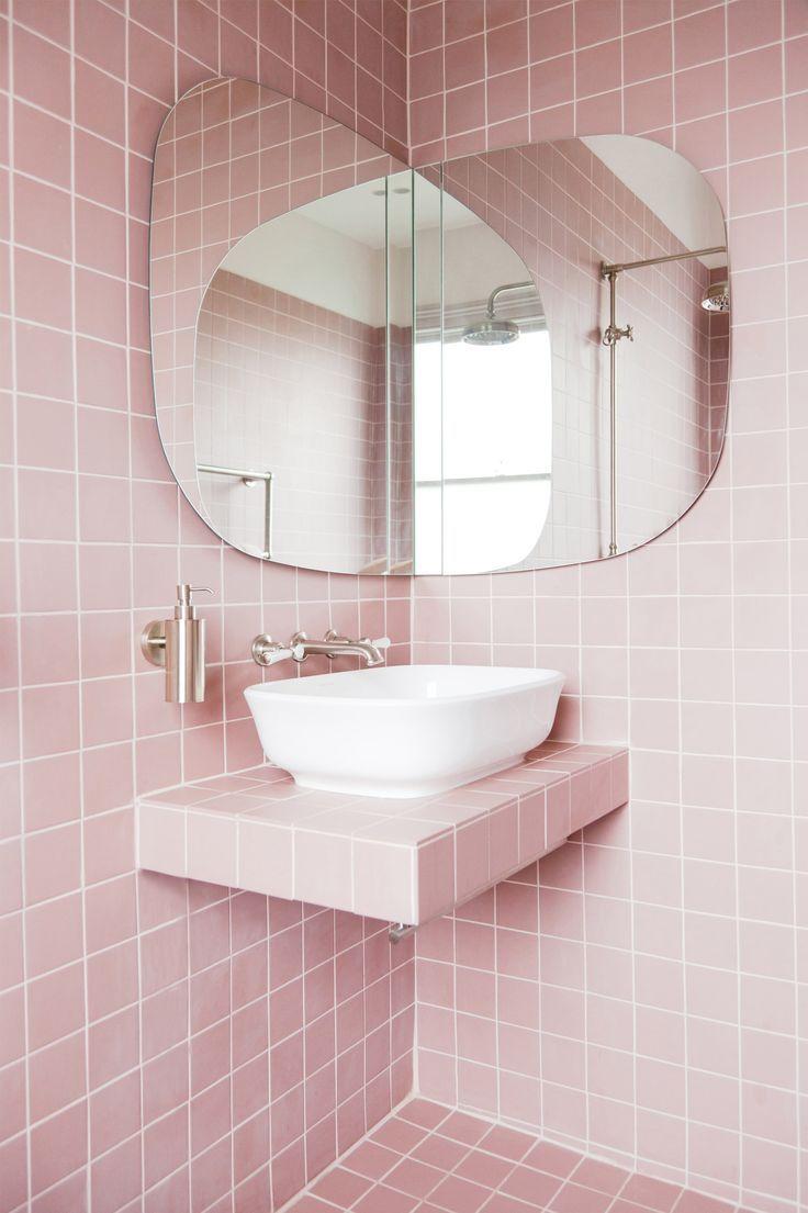 Bildergebnis für kaza concrete fliesen rosa | Salle de bains ...