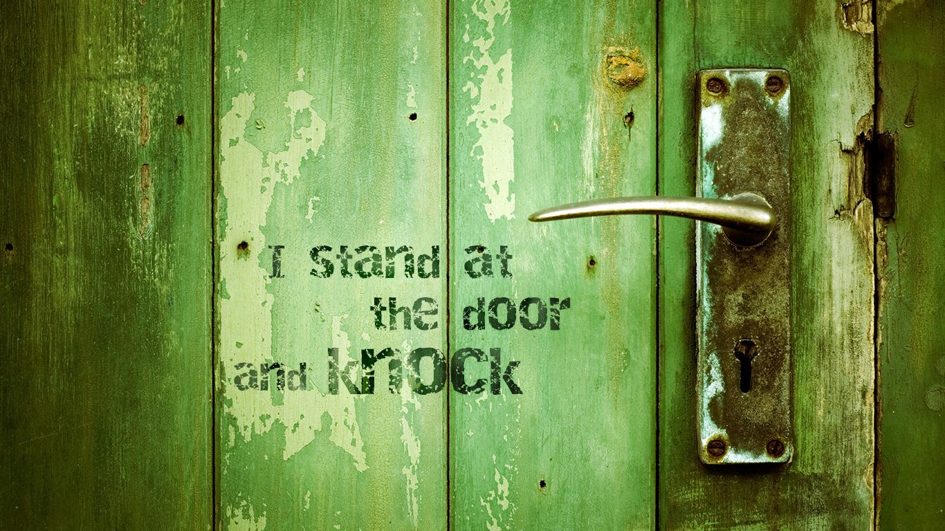 I Stand At The Door And Knock Christian Wallpaper Hd 1366x768 Http Wallpaperscristaos Com Christian Wallpaper Hd Cover Pics For Facebook Christian Wallpaper
