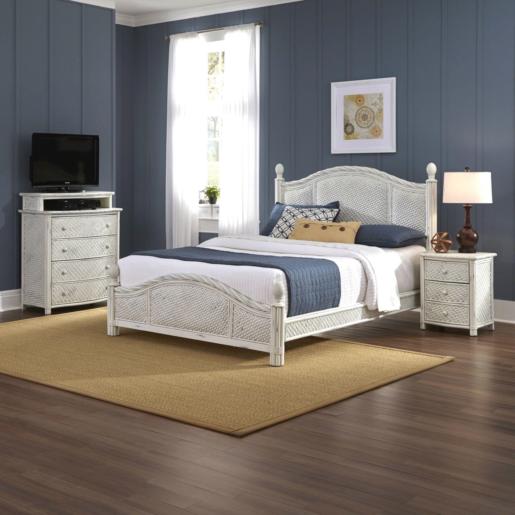 Best Marco Island Panel 3 Piece Bedroom Set Bedroom Sets 640 x 480