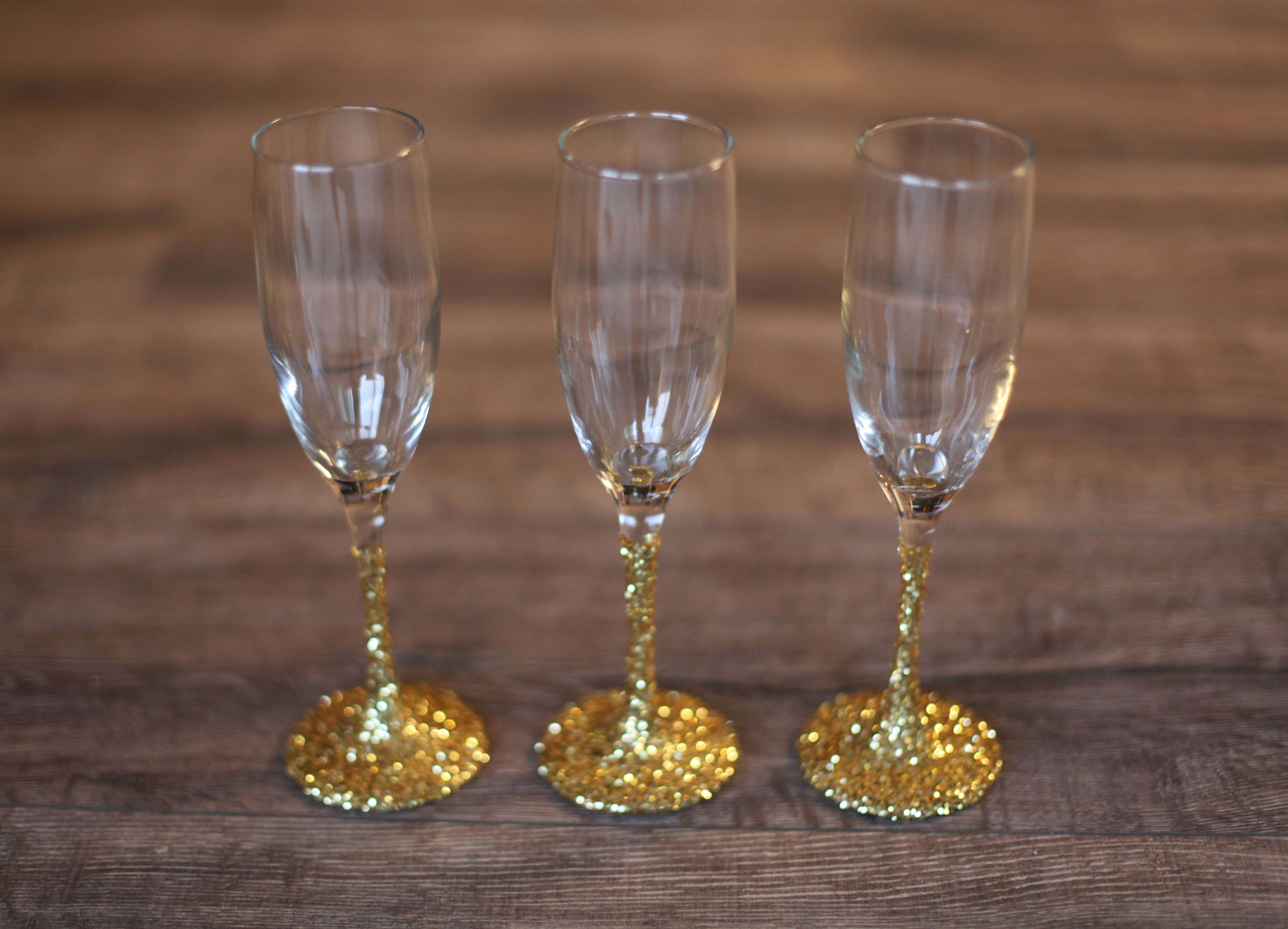 host an enchanting tree trimming party champagne glasses