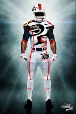 49ers Concept Uniforms With Images 49ers Sports Tees 49ers News