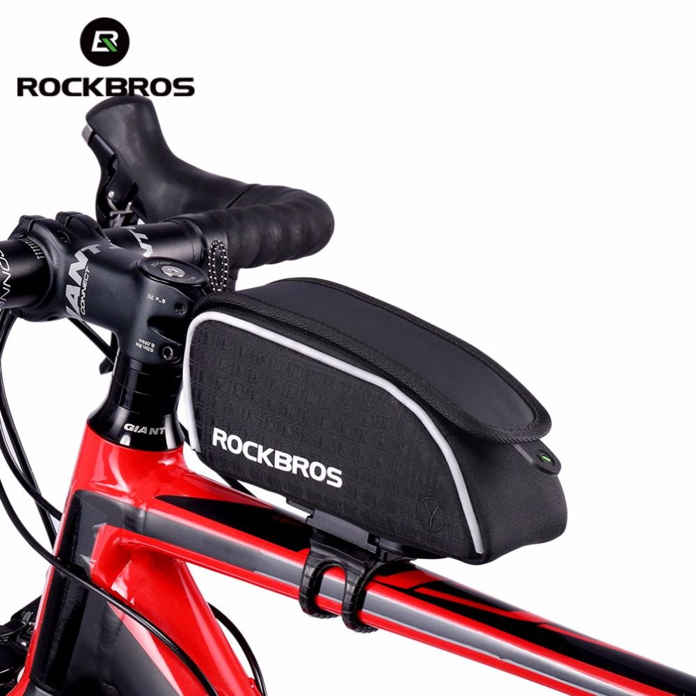 Rockbros Bicycle Bag Rainproof Top Tube Cycling Riding Bike Bags