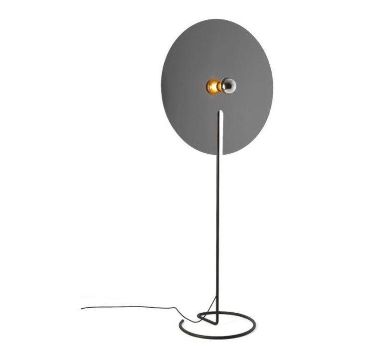 Lampadaire Mirro Floor 3 0 Or O45cm H172 5cm Wever Ducre Lampadaire Plancher Floor Lamp