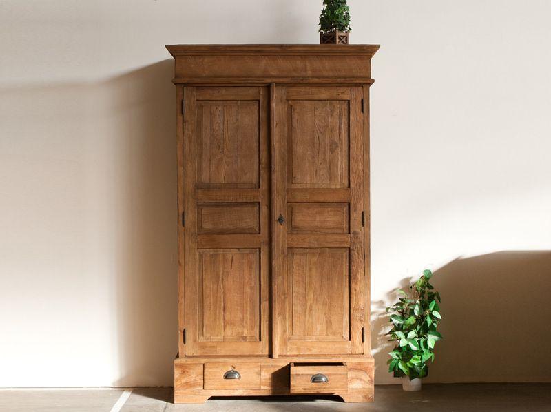 Schrank Recyceltes Teak Holz Geschirr Fundholz Von Mid Century