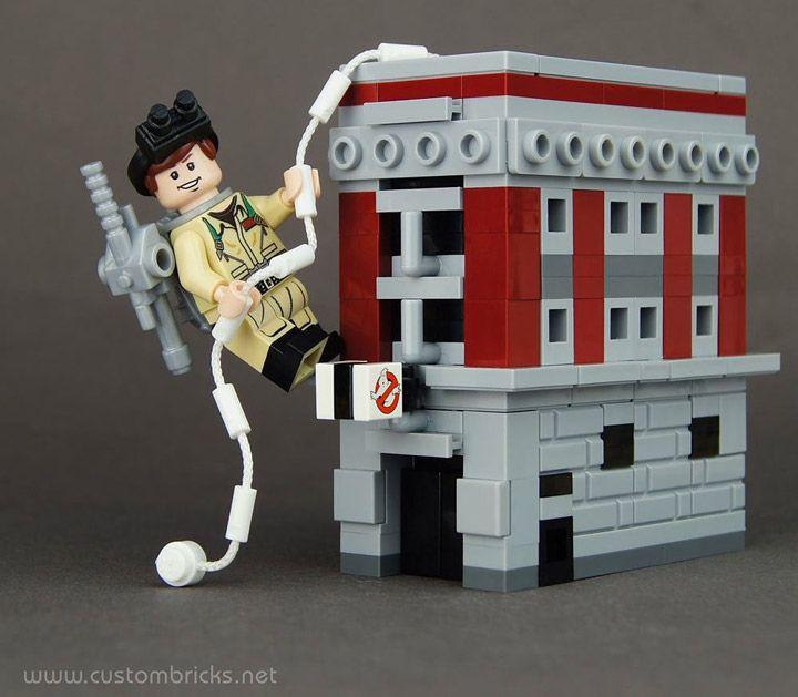 Kristis Lego Ghostbusters Mini Headquarters Lego Lego Creations