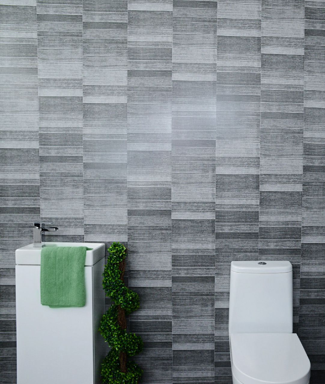 Your Very First Glance Do These Look Like Tiles To You Bathroom Decor Is Not Just About Tiles A Bathroom Wall Cladding Bathroom Wall Panels Bathroom Cladding