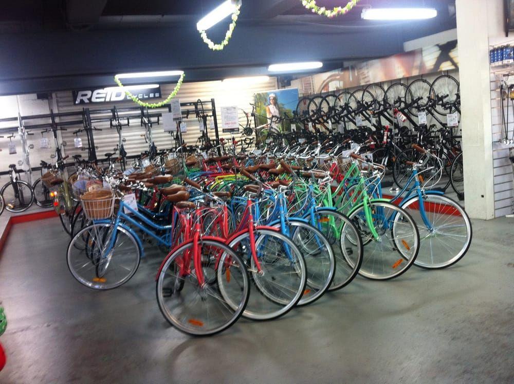Reid Cycles - North Melbourne Victoria, Australien. Spacious shop ...