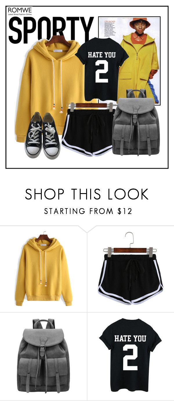 """""""Sporty Style 2"""" by ul-inn ❤ liked on Polyvore featuring Converse"""