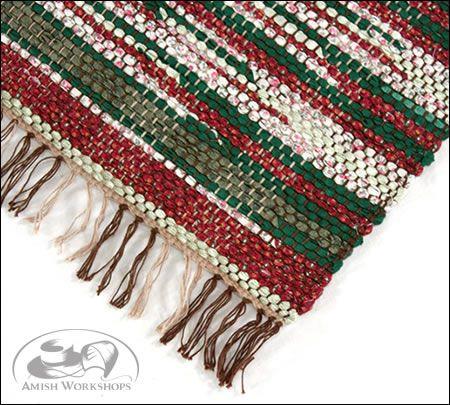 Woven Christmas Rug Large