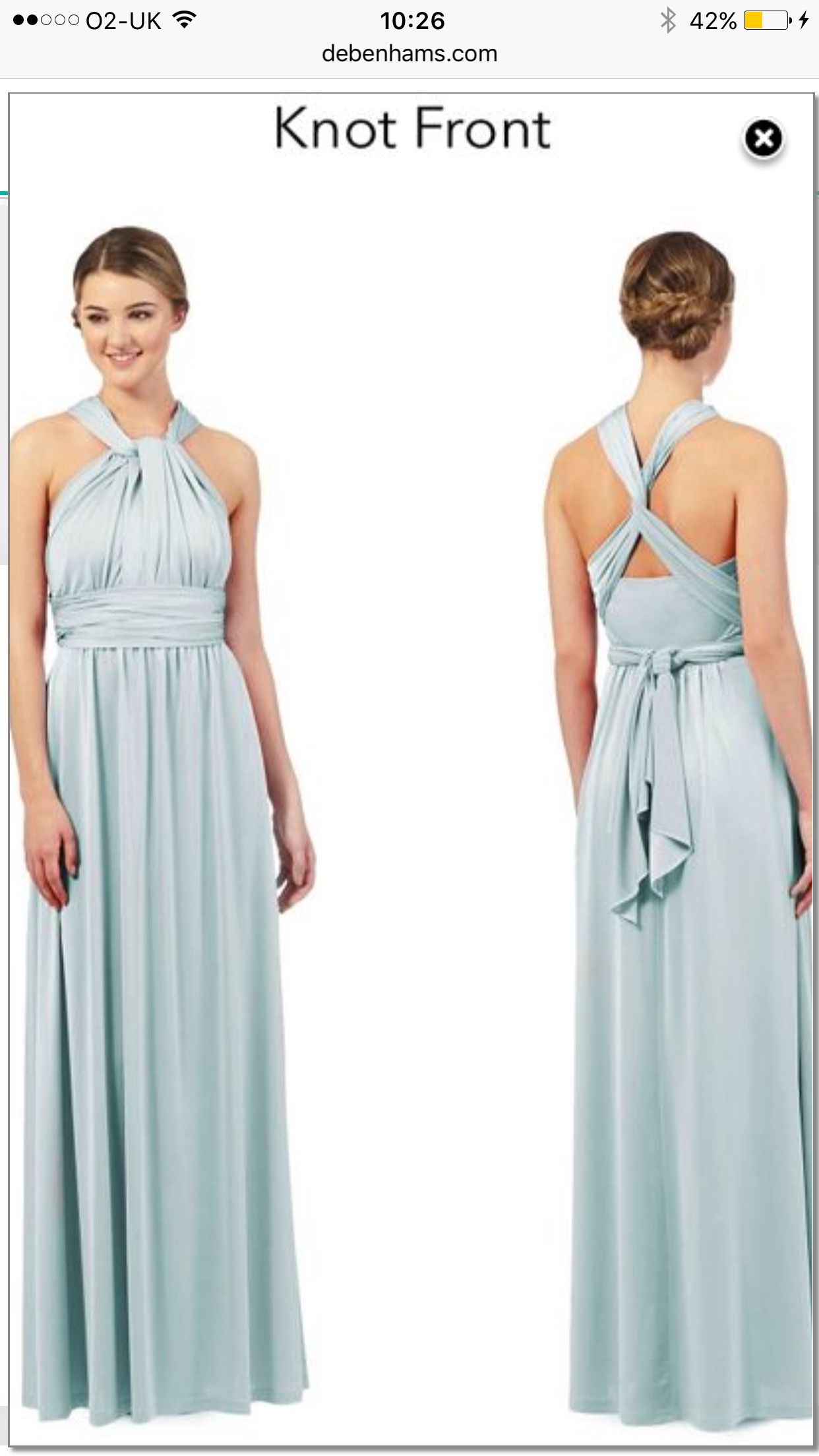 Pin by lara hall bryce on the beggs ibiza wedding pinterest debenhams twist and wrap bridesmaid dresses in antique pink absolutely stunning very good quality and only a fraction of the price of similar designer ones ombrellifo Image collections
