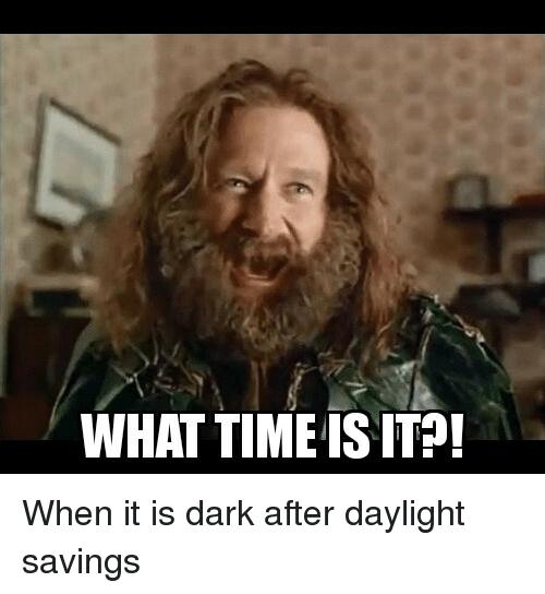 Daylight Savings Meme Indian