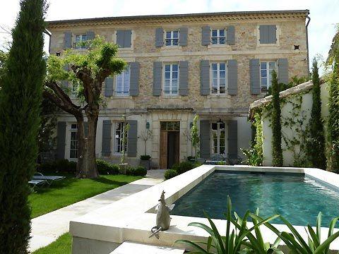 la Maison Saint Jean, maison du0027hôtes à Boulbon en Provence vers - chambre d hotes aix en provence piscine