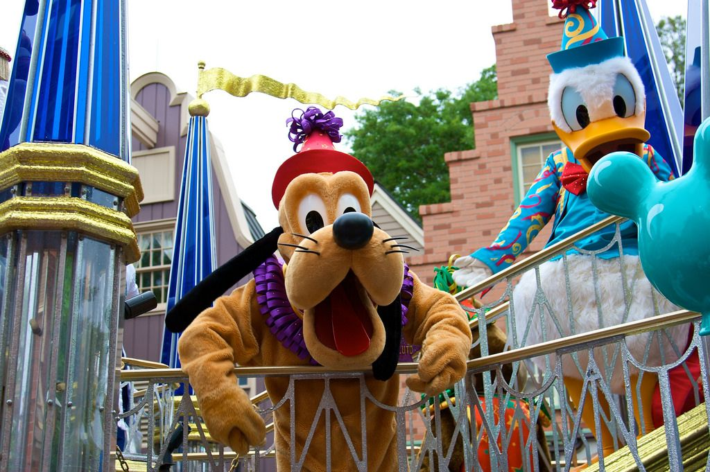 WDW April 2009 Celebrate a Dream Come True Parade by