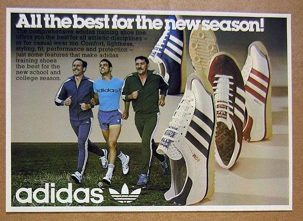 1976 Adidas ad. | Vintage adidas, Adidas, Adidas ad