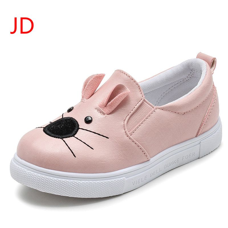 Children Shoes Girls New Girls Fashion Casual Shoes Rubber Sole Flat Shoes  for Girls Kids Shoe for Girls. Yesterday s price  US  21.00 (17.36 EUR). f2bb3a0ebd76