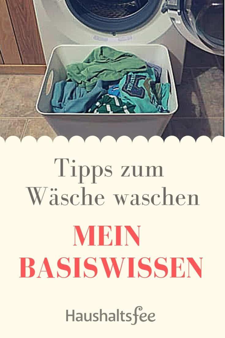 Tipps zum Wäsche waschen: Mein Basiswissen