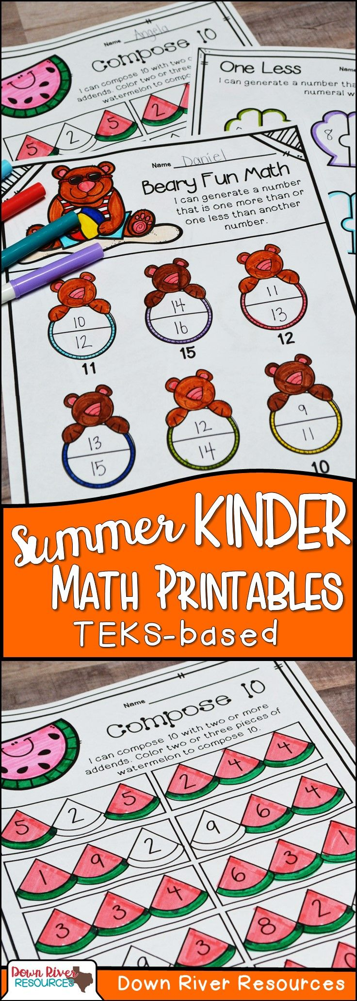 c264b7f892504c02133c4d3cdbb509bb Teks Math Worksheets For Kindergarten on writing numbers, spring addition, common core, end year,