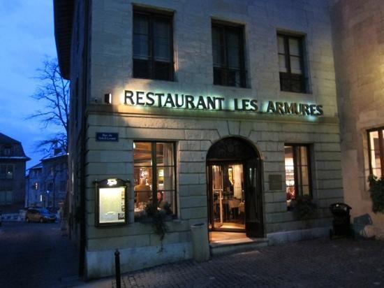 Les Armures Geneva Restaurant Swiss Recipes Unique Restaurants