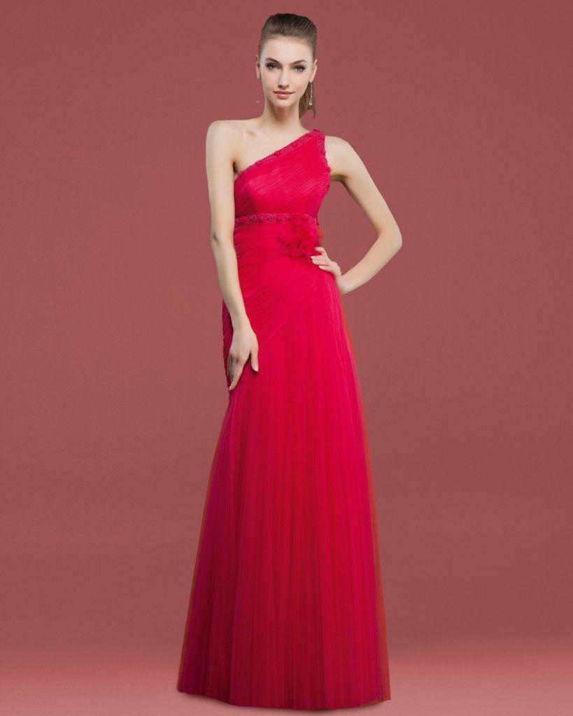 Vestidos para ir de boda rojos
