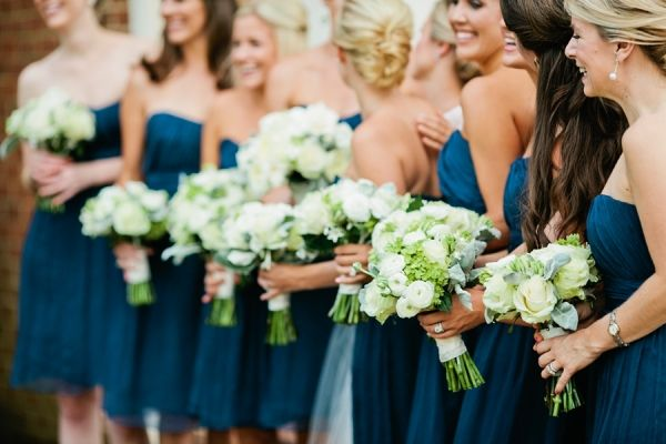 Classic And Chic Southern Wedding From Kristyn Hogan Dark Teal