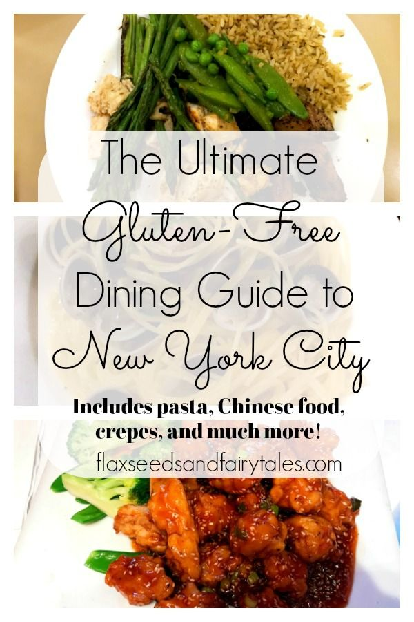 The Ultimate Gluten-Free Dining Guide To NYC, Part 1