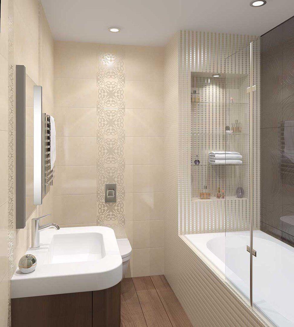 Small Bathroom Bath Shower Powder Pinterest ~ Cuartos De Baño De Diseño Pequeños